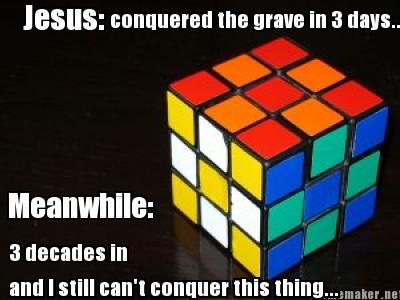 jesus rubiks cube